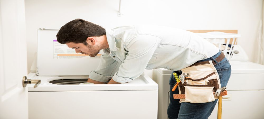 repairing the gas dryer
