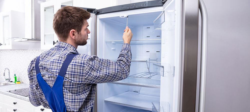 regassing a freezer